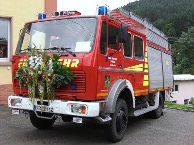 TLF 16/25 bei der Fahrzeugübergabe 2008