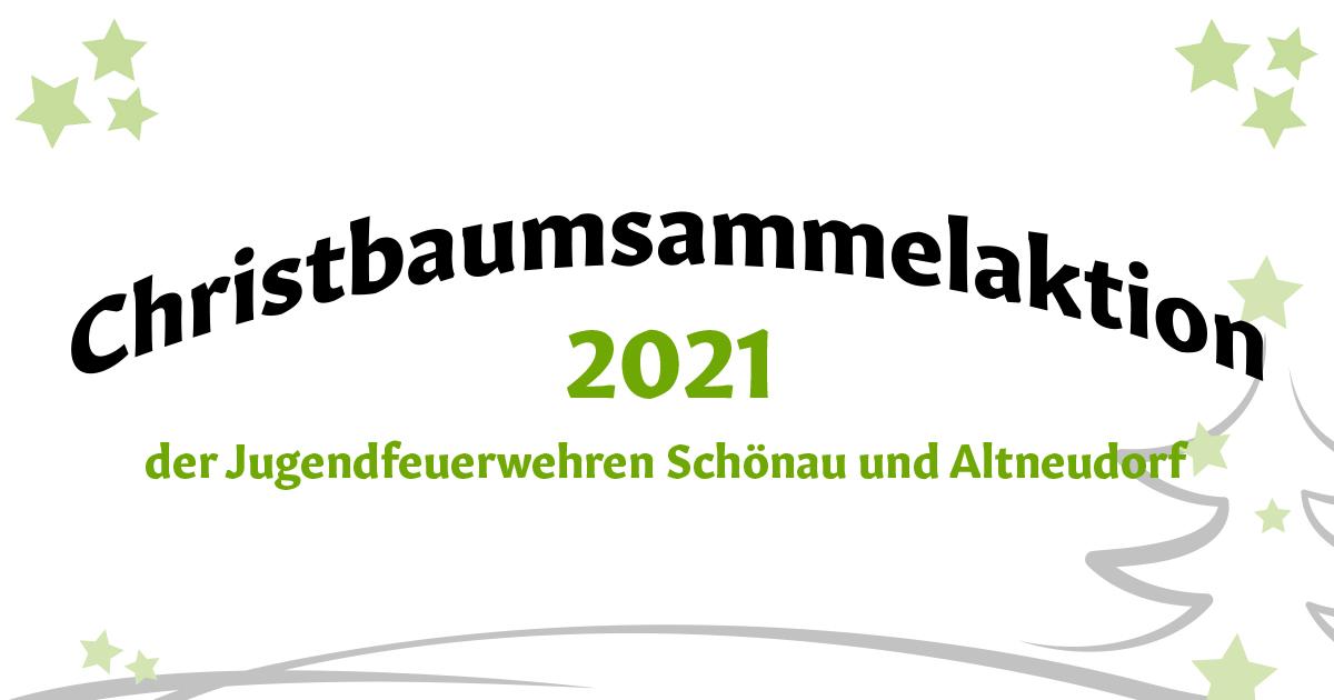 Christbaumsammelaktion 2021